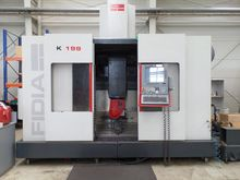 used 5-axis High Speed Machining Centre FIDIA K 199 with FIDIA C 20 control
