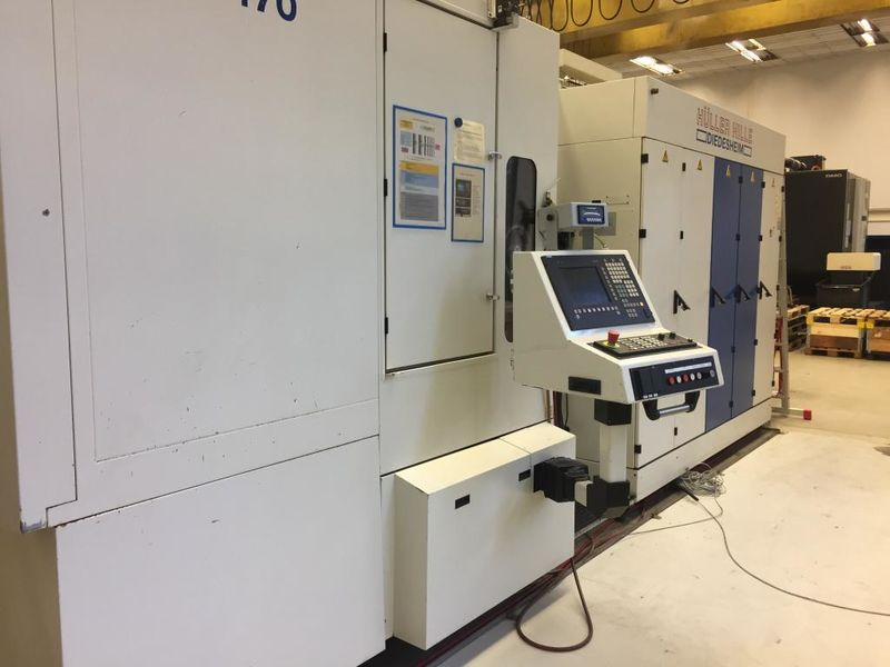 used horizontal machining centre HÜLLER HILLE nb-h 170 Speed with SINUMERIK 840 D control