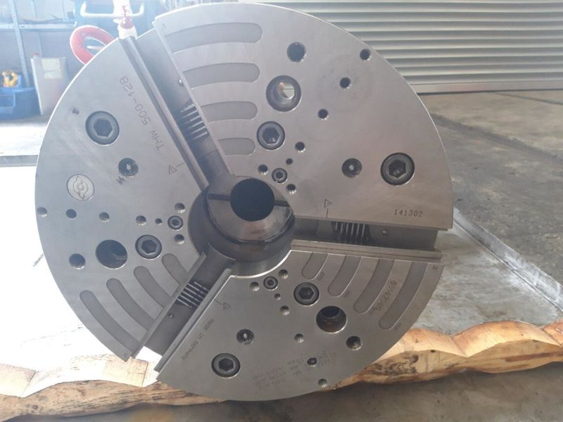 power jaw chuck SCHUNK THW 500-128_total view